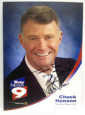 Chuck Henson, Bay news 9