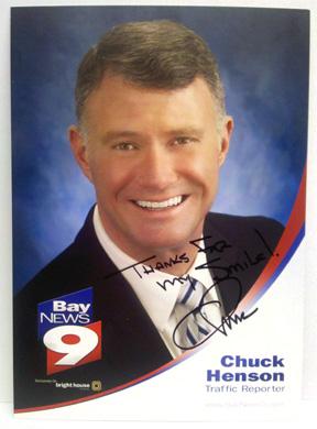 Chuck Henson, Bay news 9