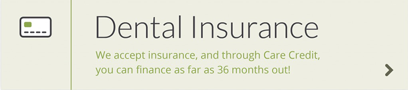 Hopkins General Dentistry accepts insurance through Care Credit